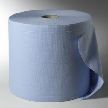 Essuie-tout bleu midi 2 plis