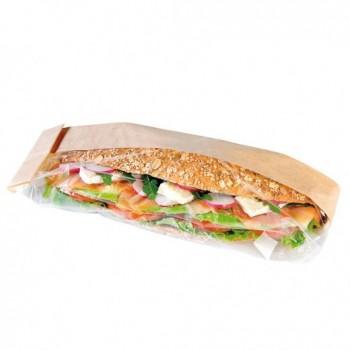 Sac sandwich semi transparent