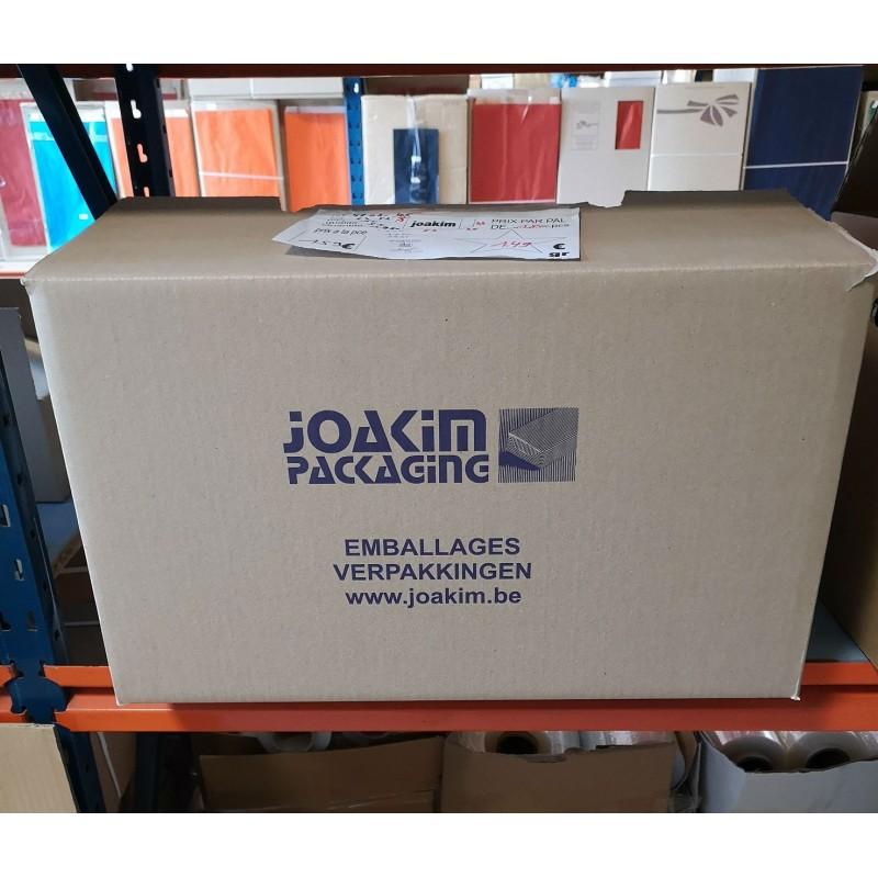 Boite de déménagement JOAKIM semi-automatique avec poignées ( 53 x 35 x 33 cm)