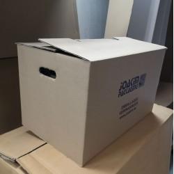 Verhuisdozen met handgrepen ( 53 x 35 x 33 cm)