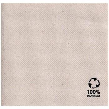 Serviettes recyclées et 100% recyclables avec ECOLABEL