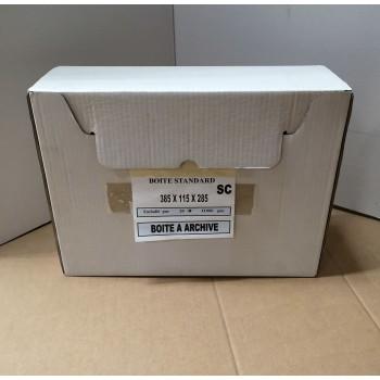 Boites à archives 38,5 x 11,5 x 28,5 cm ( 20 pièces)
