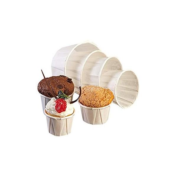 Papieren soufflé cups
