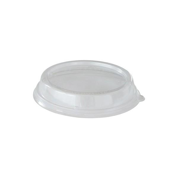 40 Bio afbreekbare Suikerriet deksels voor ronde bowl