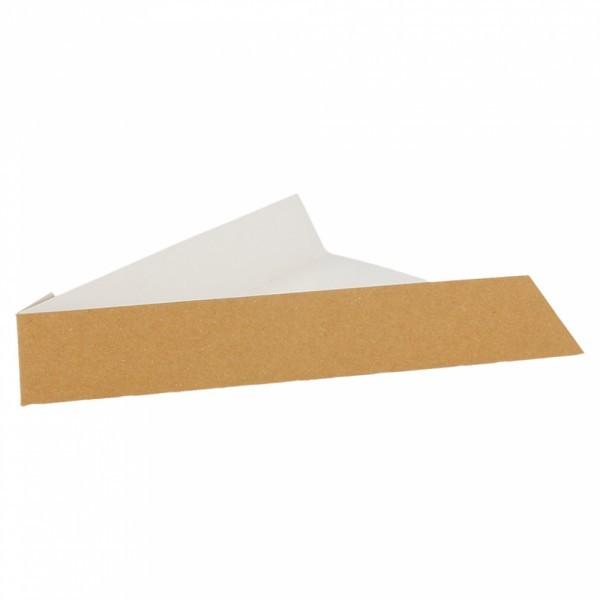 Pizzapunt take-away kraft doos - 21x16,5x3,5 CM ( 200 stuks)