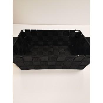 Panier de rangement 20 x 20cm noir