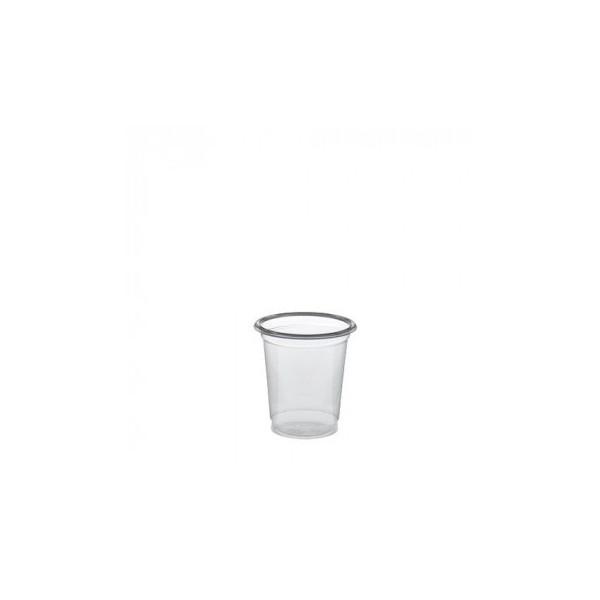 Mini verre dégustation en plastique transparent 2 cL