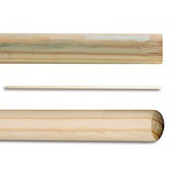 Manche en bois pour la raclette 140cm x 23.5 mm