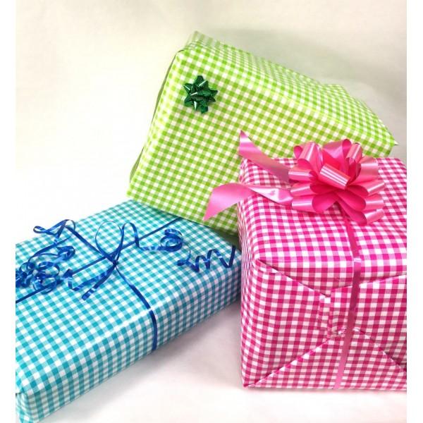 Papier cadeaux Vichy 50cm x 200m