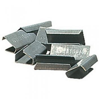 Stalen omsnoering - Metalen klem voor tang - 1000 stuks
