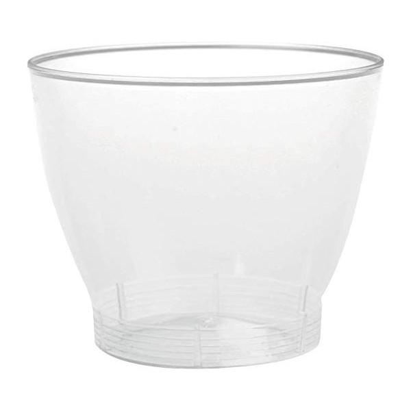 Mini verre dégustation en plastique transparent 4 cL