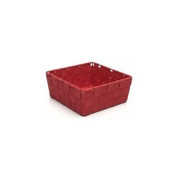 Panier carré sm paprika rouge rope