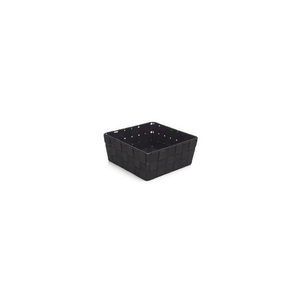 Panier carré sm noir rope