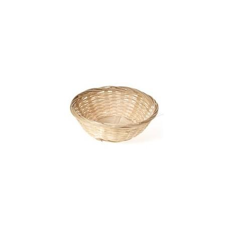 Panier rond bambou +/-15 cm