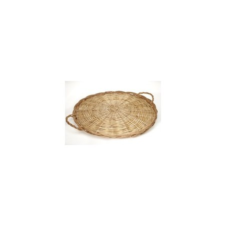 Plateau fromage +anses 50cm osier