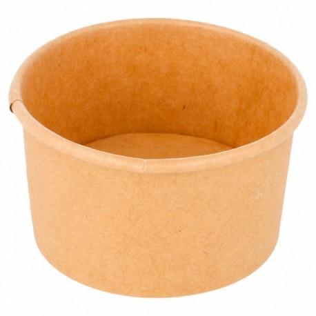 50 Pots en kraft brun 70ml( sans couvercle)