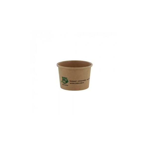 250 Pots à sauce marron en carton 45 ml