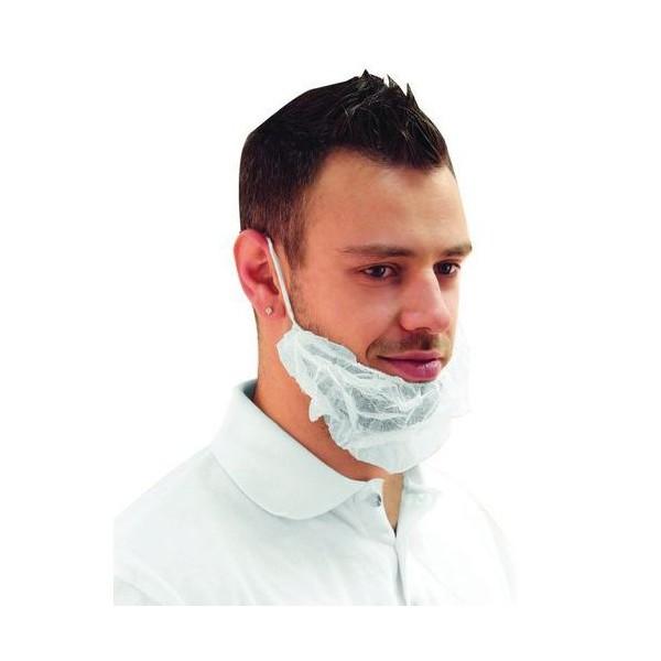 Wegwerpbaar baardmasker  100 stuks