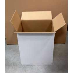 Cartons / Caisses en double cannelure 24,1 x33,2 x41cm