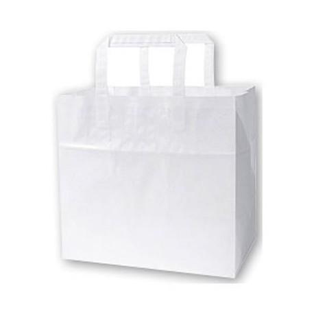 1 carton de 250 Sacs papier takeaway 32x21x27cm