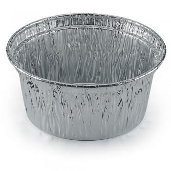 Pot rond aluminium 125cc