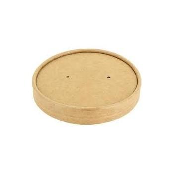 Couvercle pour bol à soupe carton 340ml/480ml