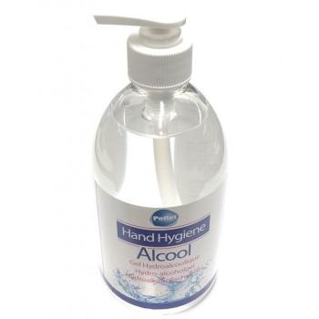 Gel hydroalcoolique désinfectant 80% 500ml