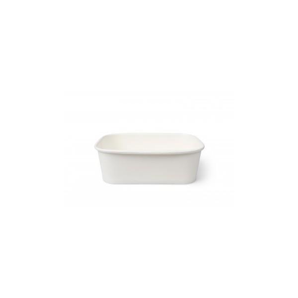 25 Maaltijd bak wit - geschikt voor de magnetron
