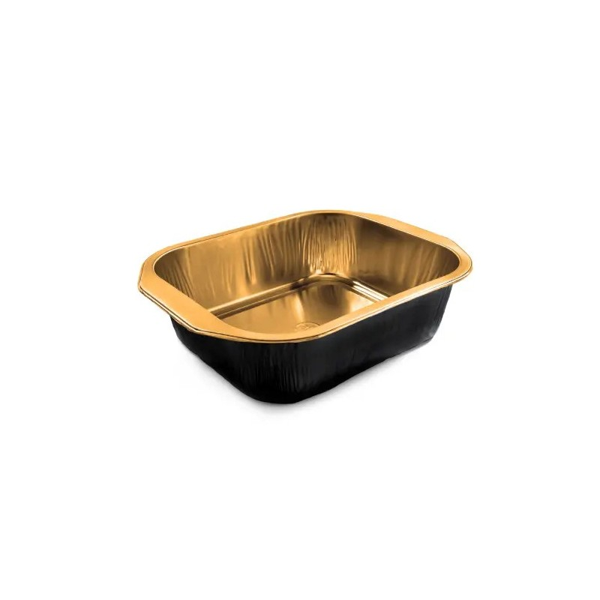 Barquettes Alu Black&Gold 500gr