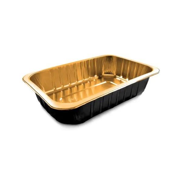 Barquettes Alu Black&Gold 1000gr