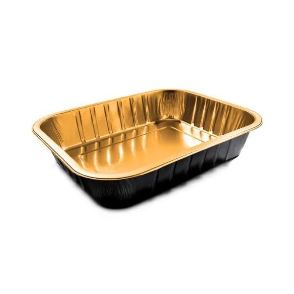 Alubakjes Black&Gold 1000gr