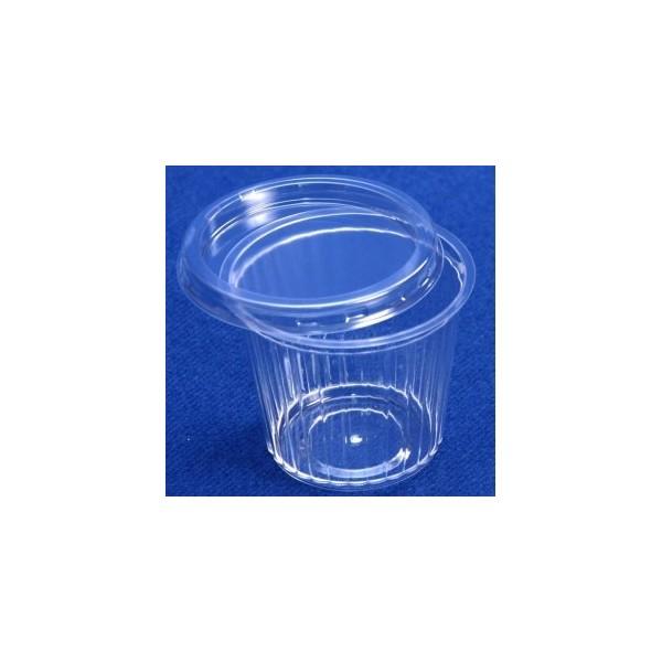 Ravier PS cristal transparent
