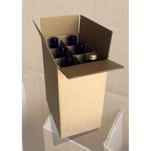 Boites brunes d'emballages