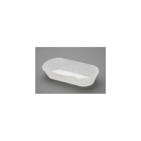 Caissette de pâtisserie plissée ovale
