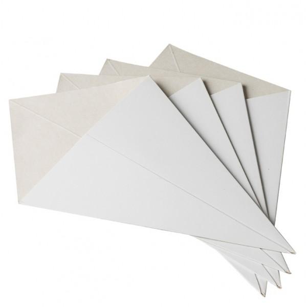 Cornet pour friterie [carton]