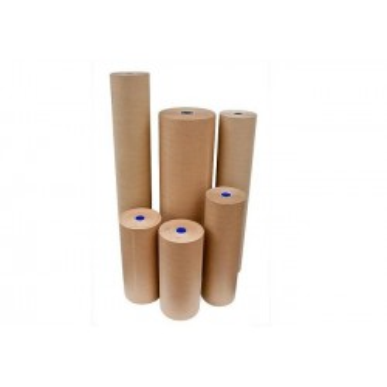 Rollen pakpapier - Naturel - Op rol - 70 gr/m²   120cm x 300m
