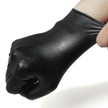 Gants nitriles noirs