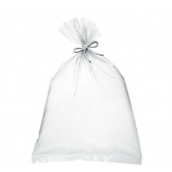 Sac grand format PELD transparent ( 1 carton)