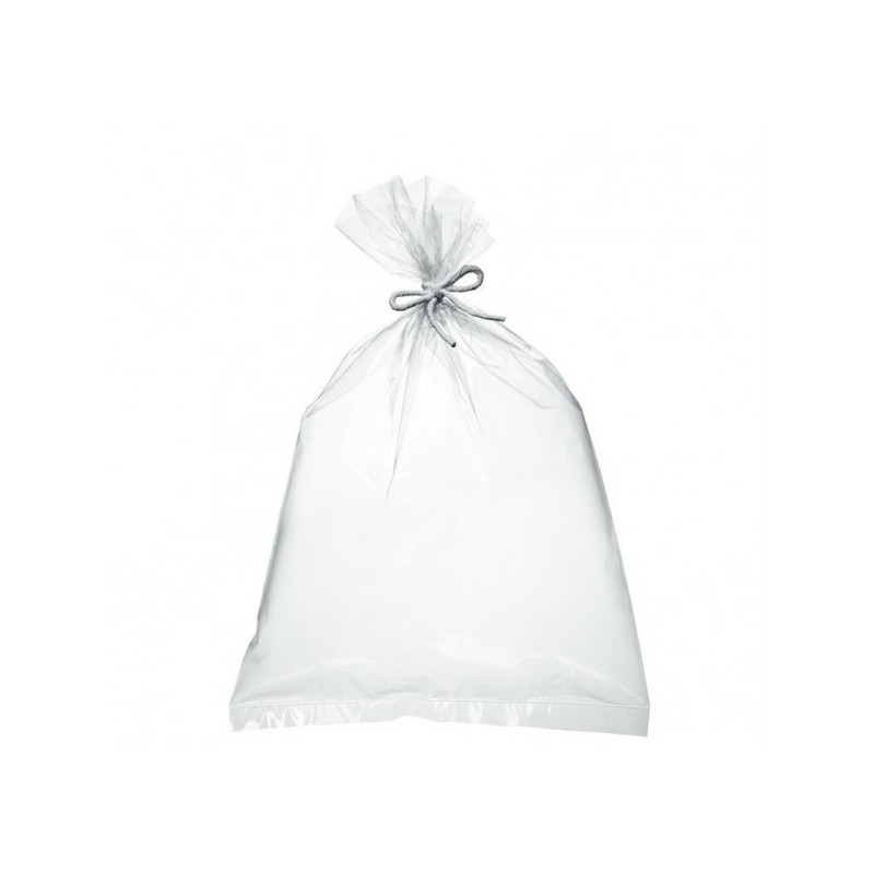 Sac grand format PELD transparent