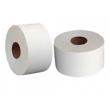 12 rouleaux de papier toilettes / papier hygiénique E Mini Jumbo