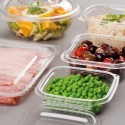 Barquette à salade à charnières ( 100 pièces)
