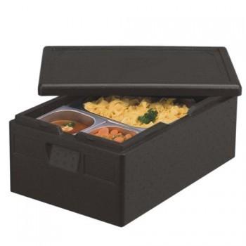 Transportboxen, Zwart EPP | 60x40x 23cm