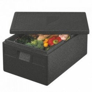 Transportboxen, Zwart EPP | 68,5x48,5x36cm