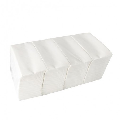 Serviette papier standard 2 plis 33 x 33 cm pliage 1/8