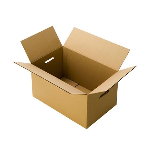 Boite de déménagement standard avec poignées 60x40x40cm (10 pièces minimum)